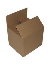 Single wall cardboard storage boxes