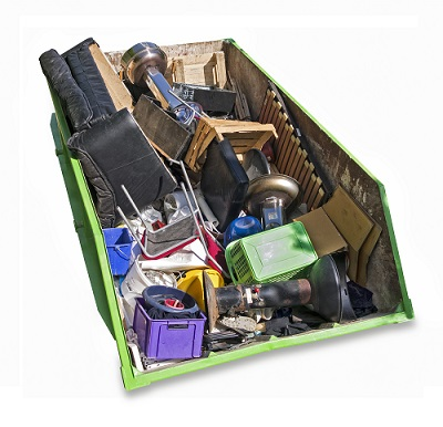 Decluttering your home before moving