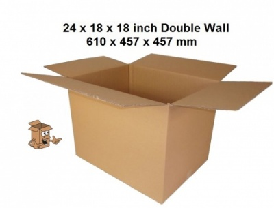 Cardboard removal boxes large 24x18x18
