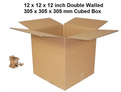 Cardboard Boxes 12 x 12 x 12'' ideal for plates