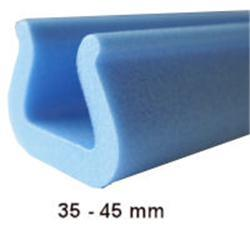 Foam edging 35-45mm 2m U profile