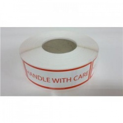 Handle-with-care labels 1000