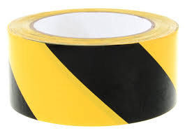 Hazard warning tape 33mx50mm