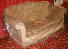 Three seat heavy duty settee cover