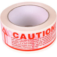 Caution-check-contents tape