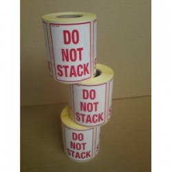 Do-not-stack 1000 warning labels