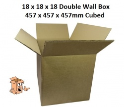Cardboard Boxes 18x18x18 inch Square