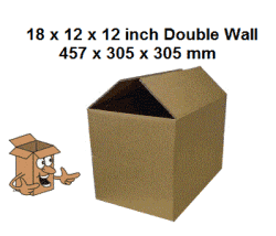 Storage boxes 18x12x12'' storage carton