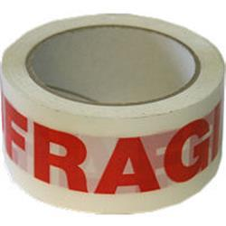 Fragile tape roll 66mx48mm packing tape