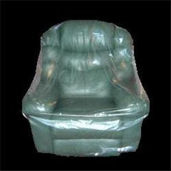 Armchair cover polythene storage protection