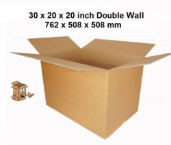 Export quality cardboard boxes 30x20x20″