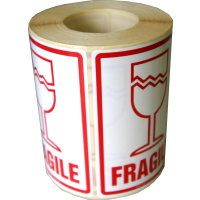 Fragile Labels 500 high quality stickers<br> tear resistant, not made from paper