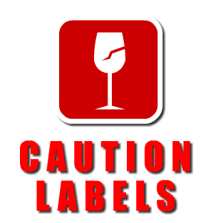 quality warning labels & caution labels on rolls